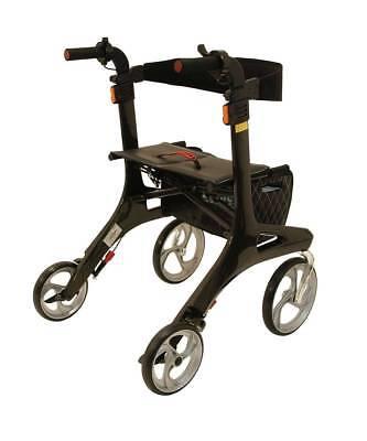 Drive Medical Rollator Nitro Carbon - schwarz 5,5kg