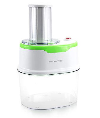 Elektro Spiral-Schneider 120 Watt 1,7L Gemüse-Hobel für Karotte Gurke Zucchini 2