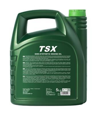 Fanfaro TSX 5 L 10W40 Semi Synthetic Engine Oil API SL/CF MB 229.1 VW 505.00 2