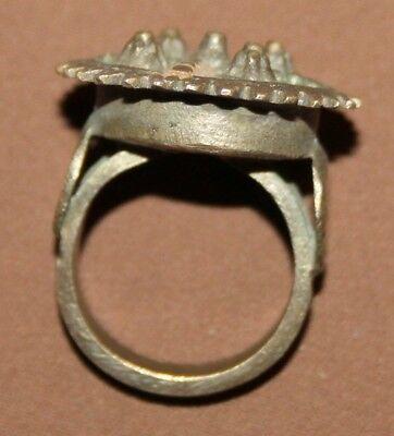 Antique Greek Hand Made Bronze Ring