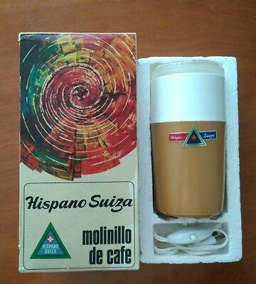 Hispano Suiza VINTAGE molinillo café ELÉCTRICO VER Fotos. Más de 70 años y nuevo 2