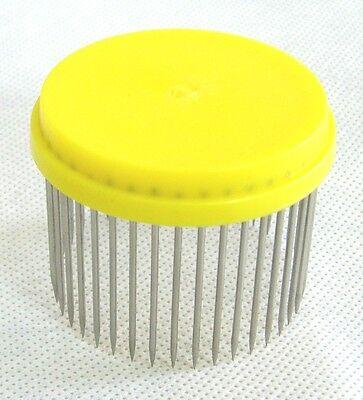 Beekeeping Queen bee Isolator / Needle cage - yellow 3
