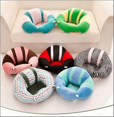 Baby Soft Learn Sitting Back Chair Cushion Sofa Training Portable Seat Nursing