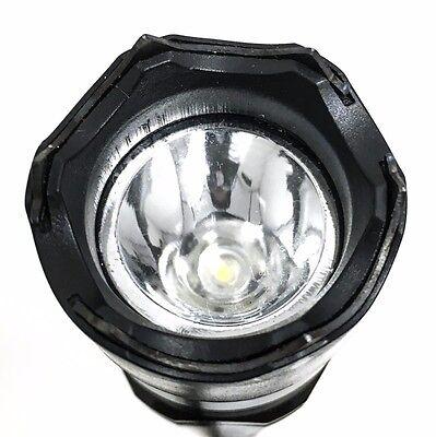 Metal POLICE Stun Gun 235 Million Volt Tactical LED Flashlight + Taser Holster