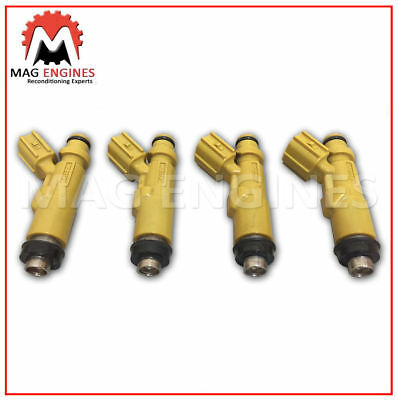 4PCS 23250-11130 High quality fuel injector for 95-04 Toyota Corolla 1.6 1.8L