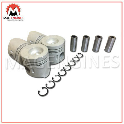 PISTON /& RING SET MITSUBISHI 4D32 LATE FOR CANTER FUSO TRUCK 3.6 LTR DIESEL