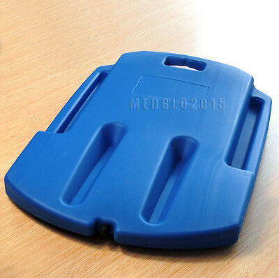 plastic medical cpr board cpr back board first aid ems blue color