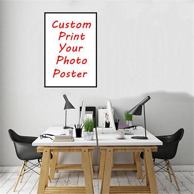 Custom Poster Print Photo Decorative Paint Canvas Art Home Wall Room Decor Gift 3