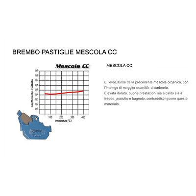 ORGANI 07015 PASTIGLIE FRENO POSTERIORE BREMBO APRILIA MX supermoto 2007-125CC