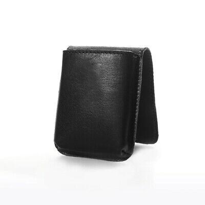 Wifehelper Portasigarette Portatile Tasca Ultrasottile Custodia per Sigarette Portasigarette in Pelle PU Cornice in Metallo 10 Dimensioni Regolari per Regalo Uomo caff/è