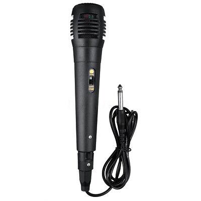 Microphone à Main Filaire Professionnel Micro Unidirectionnel Dynamique Karaoké 8