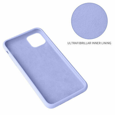 Silicone Case For iPhone 7 8 Plus X XS 11 Pro Max Full Protection Soft TPU Cover 4