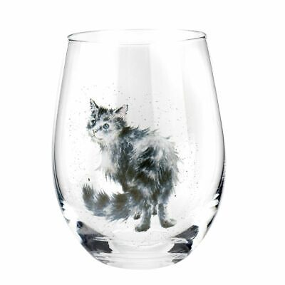 Royal Worcester Wrendale Designs Assorted Domestic Pet Tumblers Set of 4 4