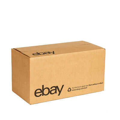 """eBay-Branded Boxes With Black Color Logo 12"""" x 6"""" x 6"""" 3"""