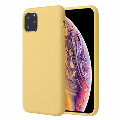 Silicone Case For iPhone 7 8 Plus X XS 11 Pro Max Full Protection Soft TPU Cover 10