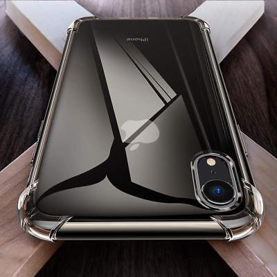 Antichoc Bumper Silicone Coque Pour iPhone XS Max 2018 XR X 8 Plus 7 Plus 6 s 6