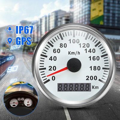 200KM//H GPS Speedometer Digital Gauge Car Motorcycle Odometer Waterproof MA2090