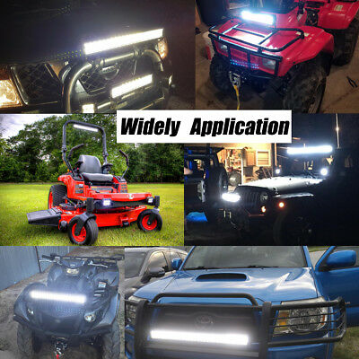 LED Work Light Bar Spot Flood Offroad Roof Lights Driving Lamp Truck Bar Car 4WD 2