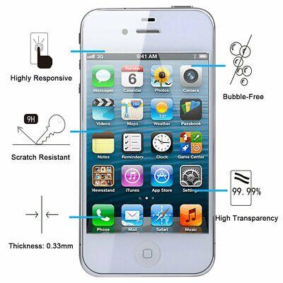 Vitre Protection Verre Trempé Film Écran Pour Iphone 8 7 6 6S Plus 5 X Xr Xs Max 6
