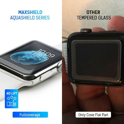 MaxShield Screen Protector for Apple Watch Series 2/3/4/5 38/42mm 40/44mm iWatch 2