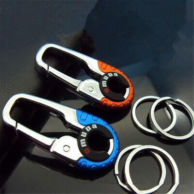 Random Key Ring Keychain Hook Outdoor Stainless Steel Buckle Carabiner Climbing