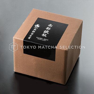 [Rare] Nanbu Tetsubin - Miyabi (S) - 0.6 Liter : Japanese blue cast iron teapot 3