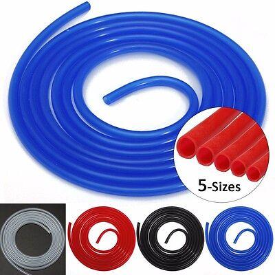 3M Tuyau Tube Silicone Flexible Air Durite Dépression Radiateur Vacuum 3-10mm 2