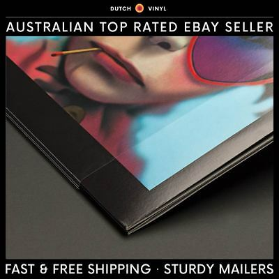 """100 x Plastic Record Outer Sleeves for Single Vinyl 12"""" LP's Blake Crystal Clear"""