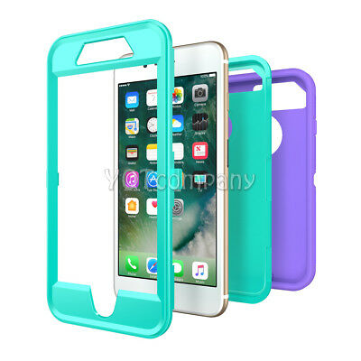 iPhone 7 8 Plus 6S XS Max XR XS X Case Cover Protective Hybrid Rugged Shockproof 10