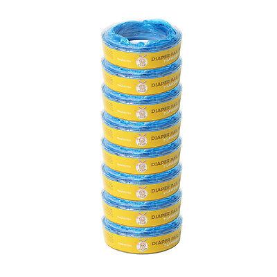 8er. Ersatzkassetten Nachfüllkassetten für Angelcare Windeleimer Systeme 7500mm 2