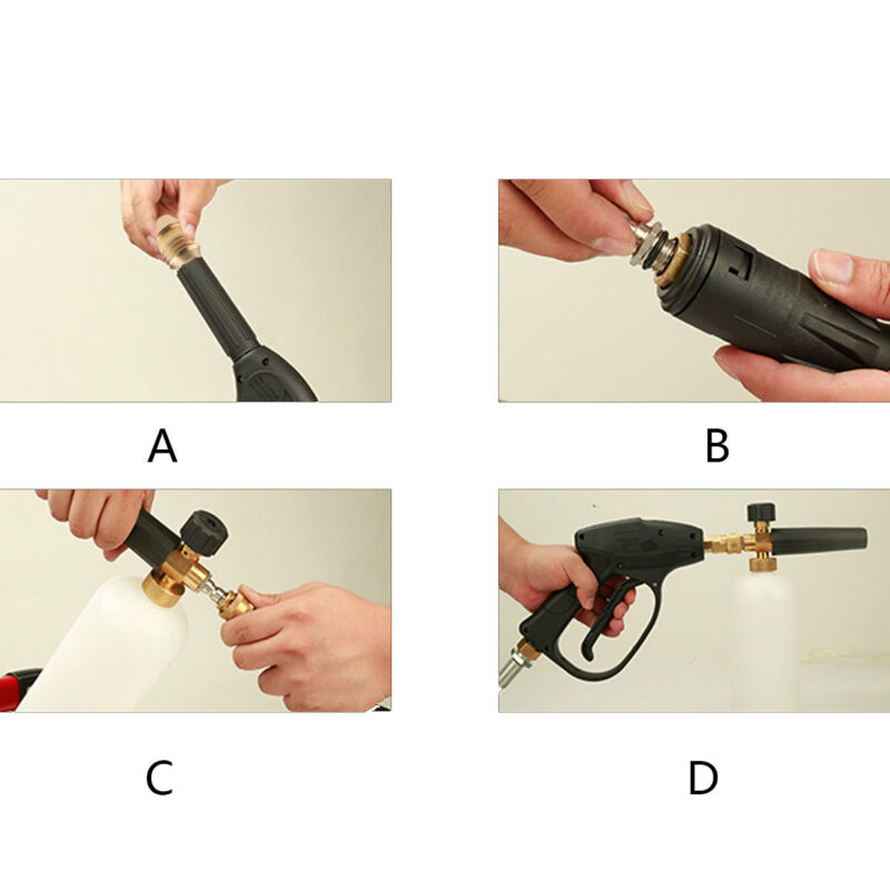 1Pc 1.1mm Foam Cannon Orifice Nozzle Tips for Snow Foam Lance Universal Brass 3