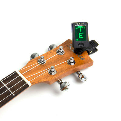 Acoustic Guitar LED Clip-on Guitar Tuner Headstock for Bass Violin Ukulele 12