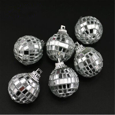 Mirror Glass Ball Disco DJ Stage Lighting Effect Party Home Decor Xmas 4-10cm 6
