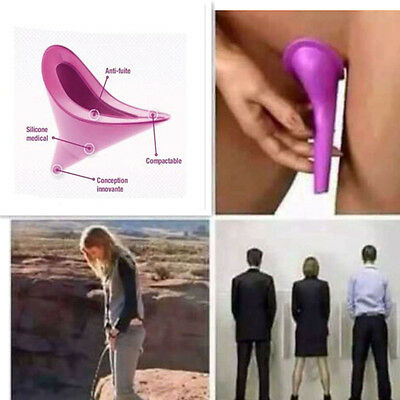 3pc Women Female Portable Urinal Outdoor Travel Stand Up Pee Urination Device