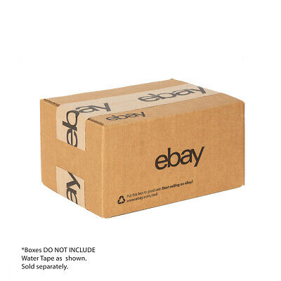 "NEW EDITION eBay-Branded Boxes With Black Color Logo 8"" x 6"" x 4"" 2"