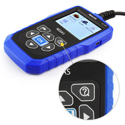 Nexas Nl102 Heavy Duty Truck & Car Obd2 Diagnostic Hd Code Reader Diesel Scanner 4