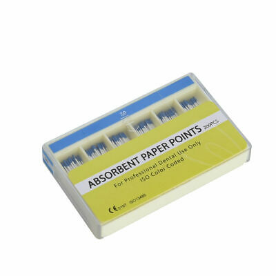 200Pcs Dental Absorbent Paper Points Sterile 7 Sizes For Dentist High Quality 4