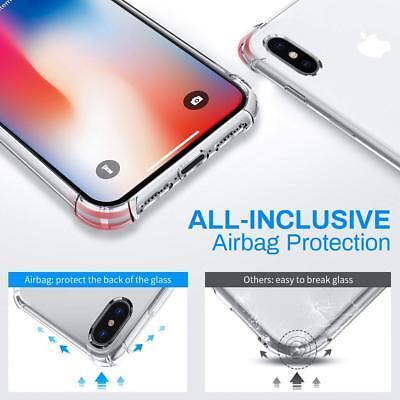 Antichoc Bumper Silicone Coque Pour iPhone XS Max 2018 XR X 8 Plus 7 Plus 6 s 8