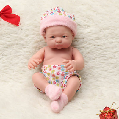 9.5 Inch Baby Doll Gift Toy Soft Vinyl Silicone Real Lifelike Toddler 7