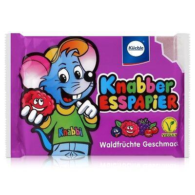 Küchle Knabber Esspapier 4-farbig 625g - Verschiedene Geschmäcker (2er Pack)