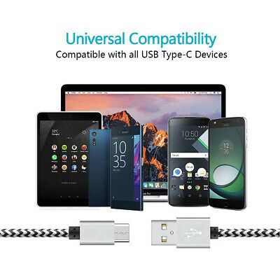 CABLE USB TYPE C CHARGEUR SAMSUNG S8 S9 S10 A8 Note8 HUAWEI P20 PRO P10 P30 Lite 2