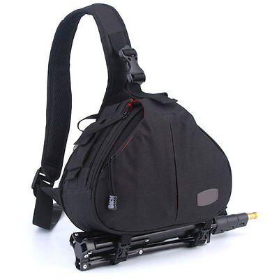 New Canon Nikon Sony Camera Backpack Sling Shoulder Bag Case Shockproof DSLR SLR 3