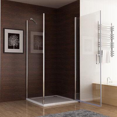 90 X 70 cm Duschkabine Dusche Duschtür Schwingtür Duschwand Seitenwand 195 Z