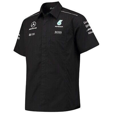 SHIRT Mercedes AMG Petronas Teamshirt Hamilton Formula One 1 F1 Extra Small AU 2