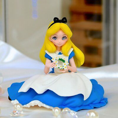 Banpresto Alice & Snow White SET Disney Characters Crystalux  Figure Wonderland
