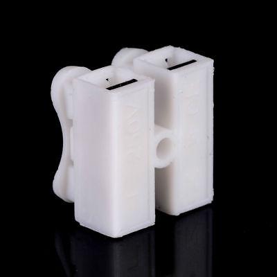 30X Elektrische Verbindungsklemmen Spleiß Steckklemmen Lock Drahtklemmen 3-polig
