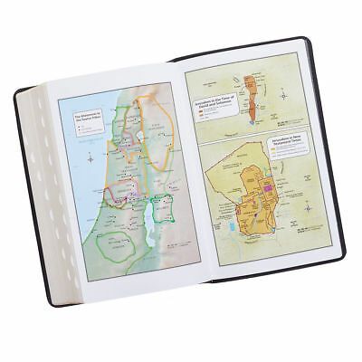 KJV HOLY BIBLE King James Version Black Large Print Thumb Index Edition NEW 3
