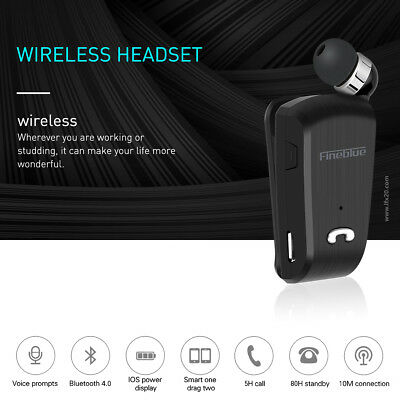 Fineblue L18 Wireless Bluetooth Headset Earphone For iPhone Samsung RF 2