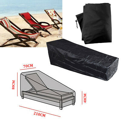 Garden Patio Furniture Bench Lounger Covers Waterproof Rattan Cube Table Outdoor 4