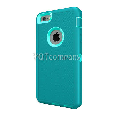 Heavy Duty Shock Proof Defender iPhone SE 5S 5 Case Cover with Screen Protector 5